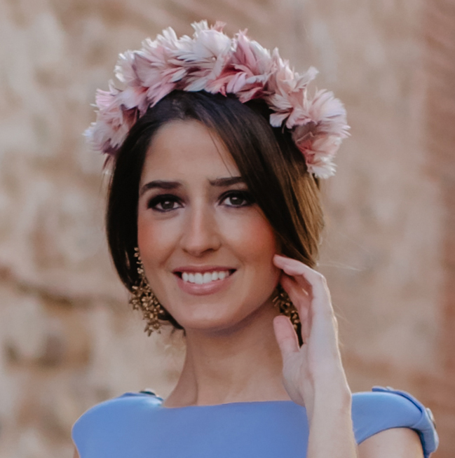 garantía de alta calidad seleccione para auténtico ventas especiales Diadema de plumas - Rosas - Nude - Malva
