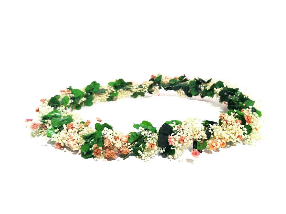 Corona de flores lito lola - Diademas de flores para nina ...