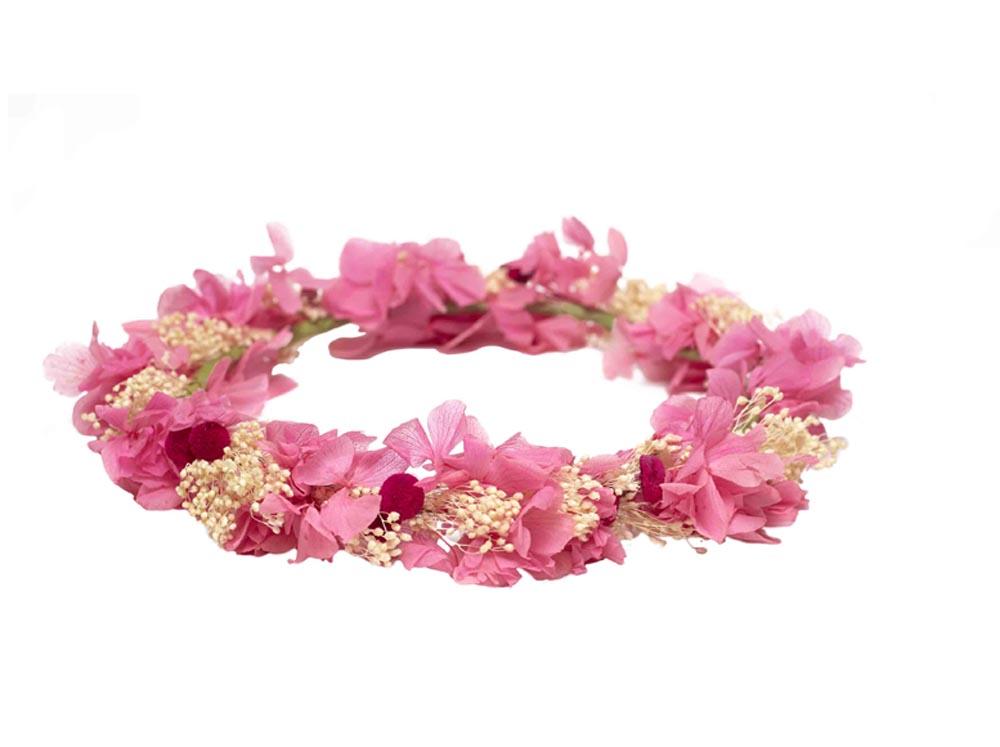 Corona de flores lito lola - Coronas de flore ...