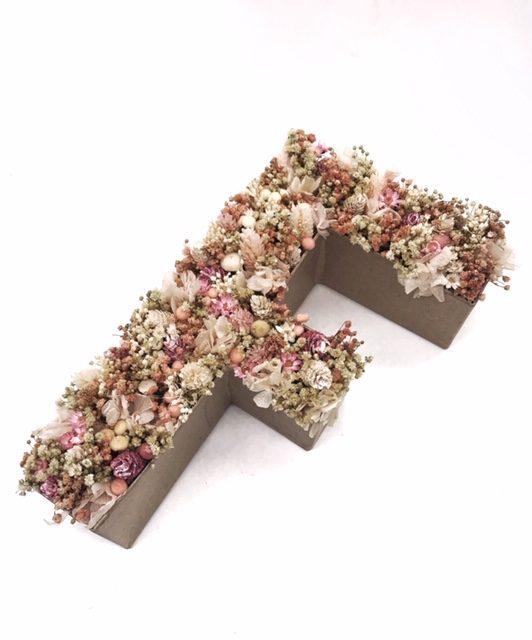 Letra de flores