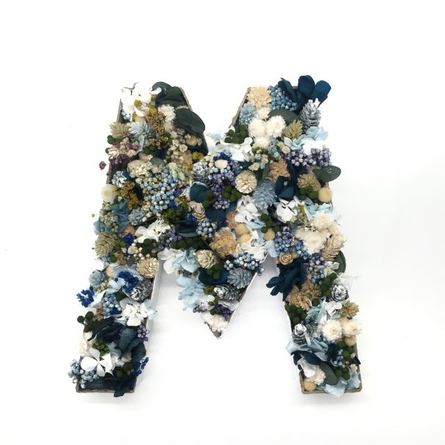 Curso de letras de flores