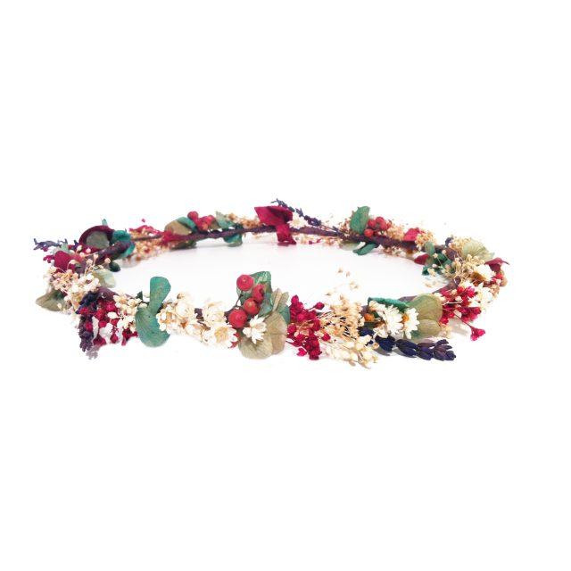 Corona de Flores Silvestres