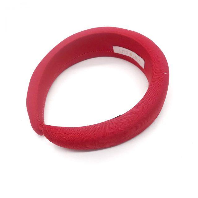 Diadema de Espuma Roja