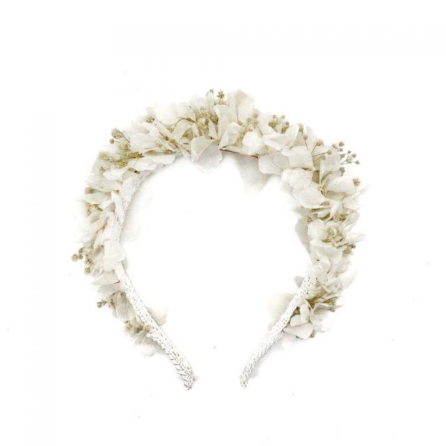 Diadema de Flores Blancas